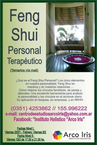 Feng Shui Terapéutico Enero y febrero