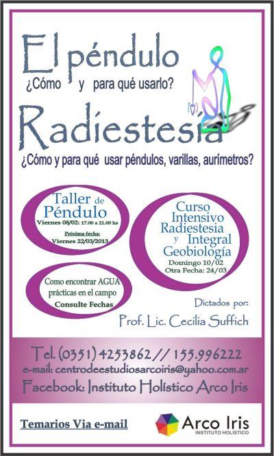 Radiestesia febrero y marzo 2013