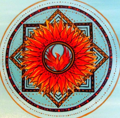 Mandala fenix